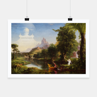 Miniaturka The Voyage Of Life - Youth by Thomas Cole Poster, Live Heroes