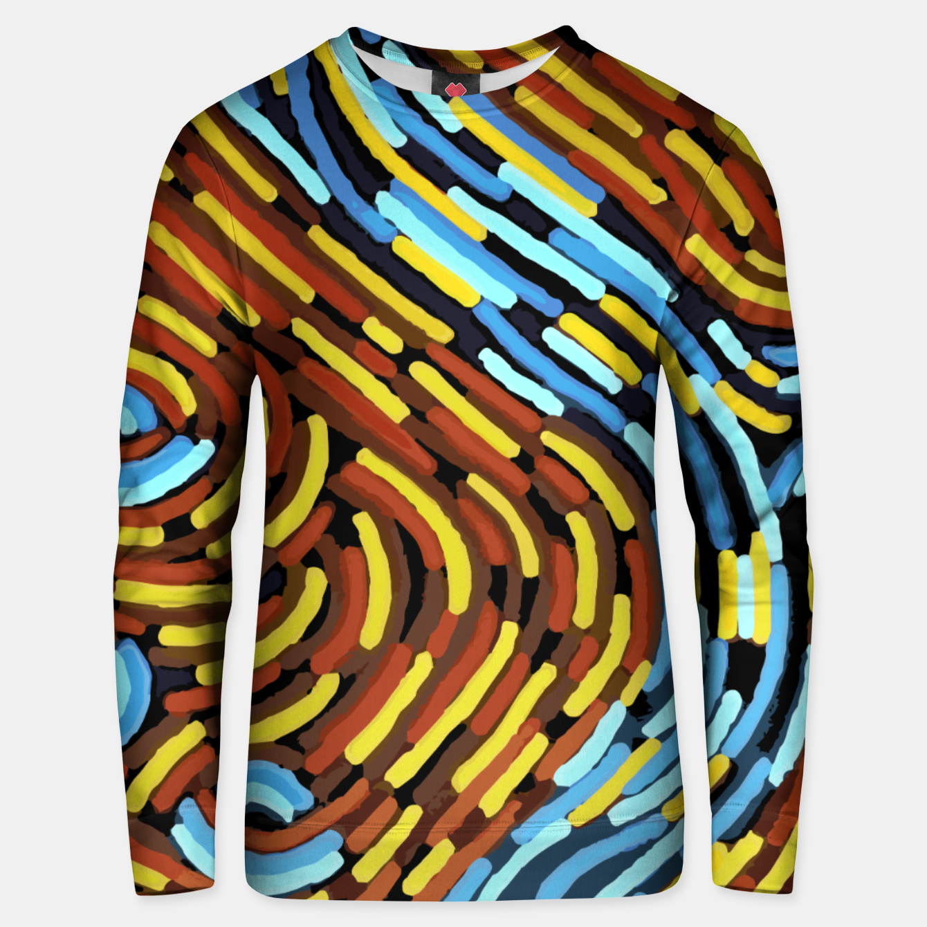 Image of The River - Authentic Aboriginal Art Unisex sweater - Live Heroes