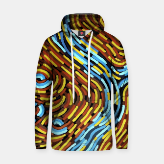 The River - Authentic Aboriginal Art Hoodie thumbnail image