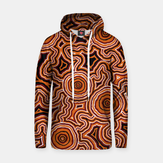 Pathways - Authentic Aboriginal Art Hoodie thumbnail image