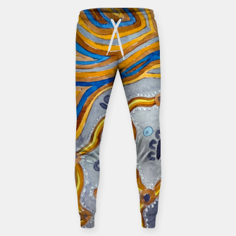 Lines - Authentic Aboriginal Art Sweatpants thumbnail image