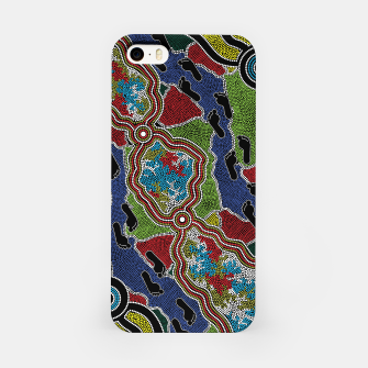 Thumbnail image of Walking the Land - Authentic Aboriginal Art iPhone Case, Live Heroes
