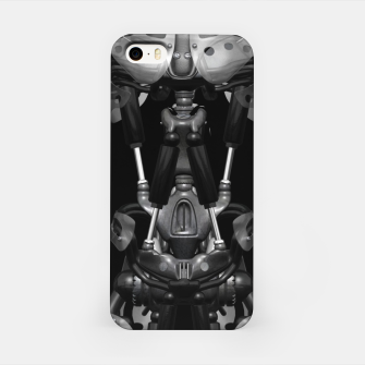 Cyborg Robot Body Shirt iPhone-Hülle obraz miniatury