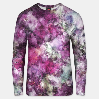 Thumbnail image of The quiet purple clouds Unisex sweater, Live Heroes