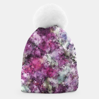Thumbnail image of The quiet purple clouds Beanie, Live Heroes