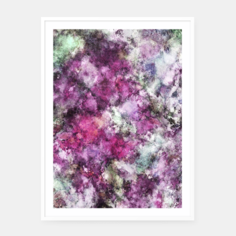 Miniaturka The quiet purple clouds Framed poster, Live Heroes