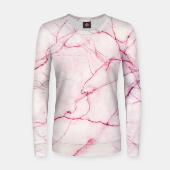 Thumbnail image of Pink marble Women sweater, Live Heroes