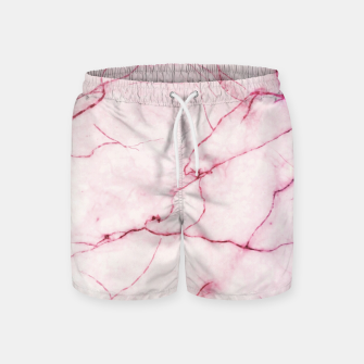 Thumbnail image of Pink marble Swim Shorts, Live Heroes