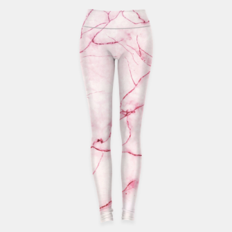 Thumbnail image of Pink marble Leggings, Live Heroes