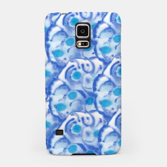Thumbnail image of Blue floral  Handyhülle für Samsung, Live Heroes