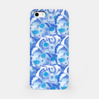 Thumbnail image of Blue floral  iPhone-Hülle, Live Heroes
