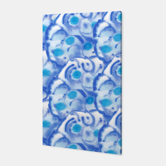 Thumbnail image of Blue floral  Canvas, Live Heroes