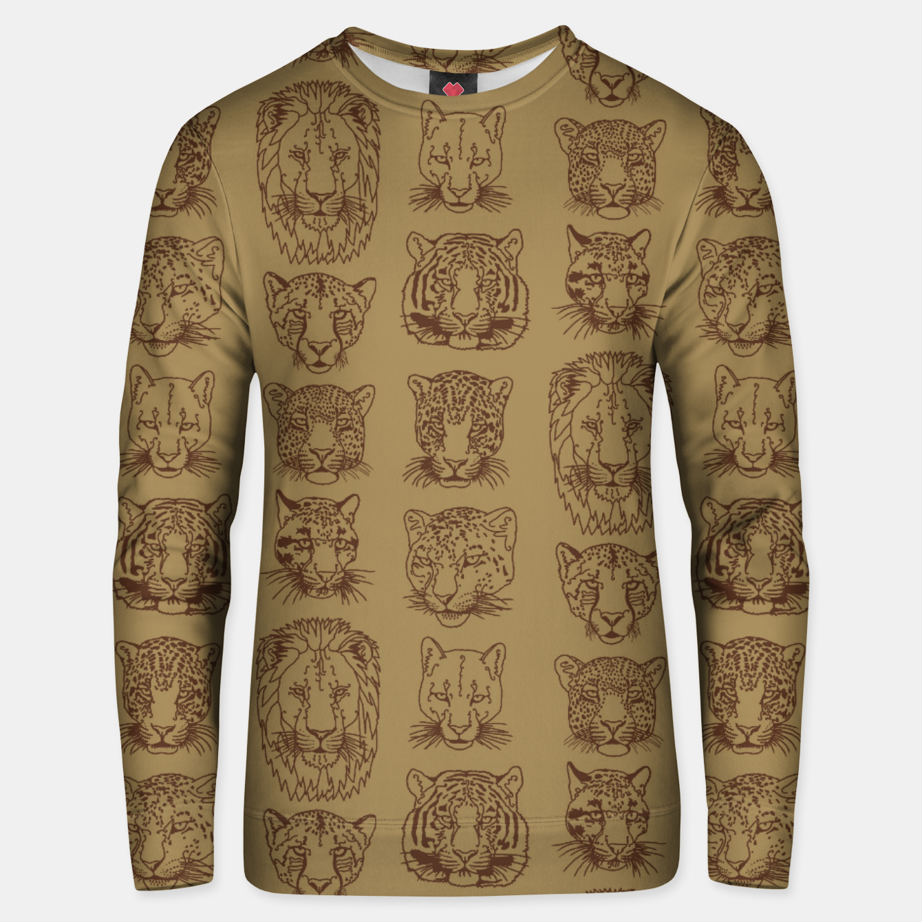 Image of Kickass Kitties - savanna Unisex sweater - Live Heroes