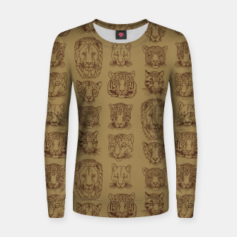 Kickass Kitties - savanna Women sweater thumbnail image