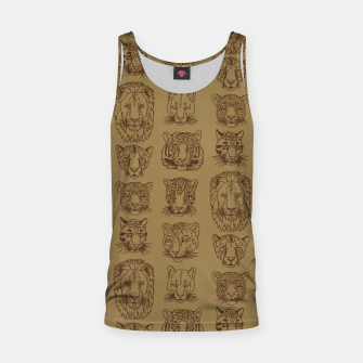 Kickass Kitties - savanna Tank Top thumbnail image
