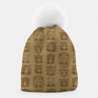 Kickass Kitties - savanna Beanie thumbnail image