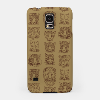 Kickass Kitties - savanna Samsung Case thumbnail image