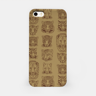 Kickass Kitties - savanna iPhone Case thumbnail image