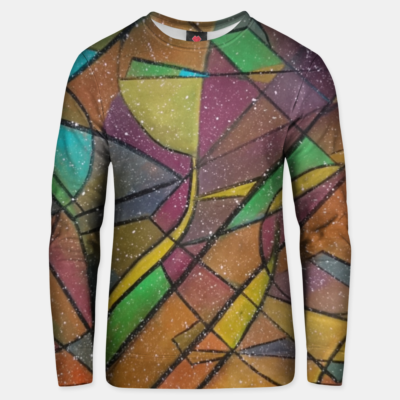 Image of GEOMETRIC Unisex sweater - Live Heroes