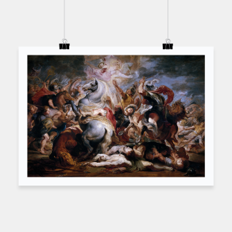 Thumbnail image of Morte di Decio Mure (Bozzetto) by Peter Paul Rubens Poster, Live Heroes