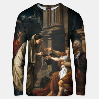 Thumbnail image of Belisarius by Jacques Louis David Unisex sweater, Live Heroes
