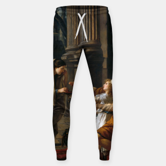 Belisarius by Jacques Louis David Sweatpants thumbnail image