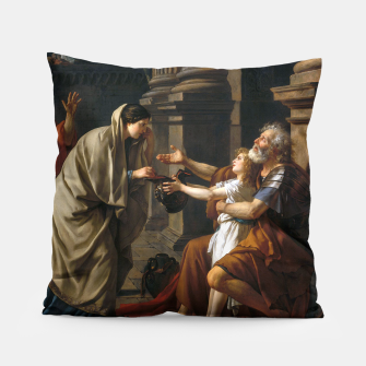 Belisarius by Jacques Louis David Pillow thumbnail image