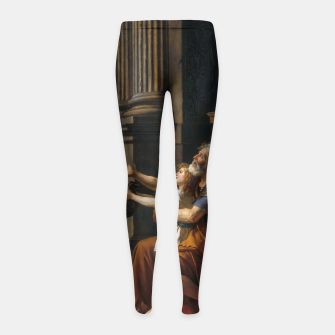 Miniaturka Belisarius by Jacques Louis David Girl's leggings, Live Heroes
