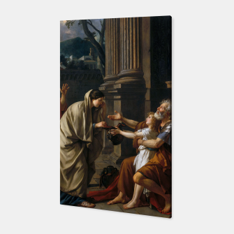 Belisarius by Jacques Louis David Canvas thumbnail image