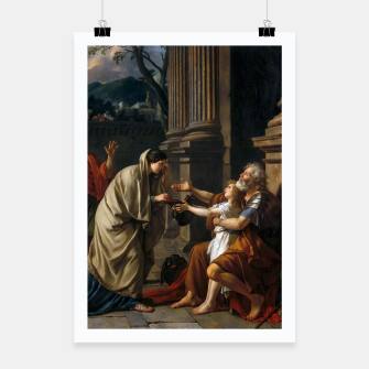 Belisarius by Jacques Louis David Poster thumbnail image