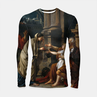 Thumbnail image of Belisarius by Jacques Louis David Longsleeve rashguard , Live Heroes