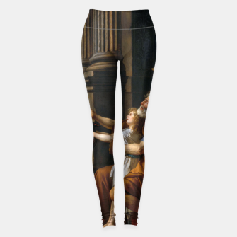 Belisarius by Jacques Louis David Leggings thumbnail image