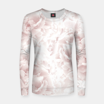 Miniatur Blush Rose Peonies Dream #1 #floral #decor #art Frauen sweatshirt, Live Heroes