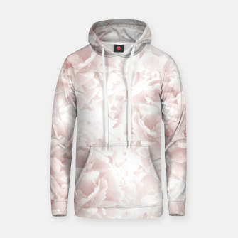 Miniatur Blush Rose Peonies Dream #1 #floral #decor #art Kapuzenpullover, Live Heroes