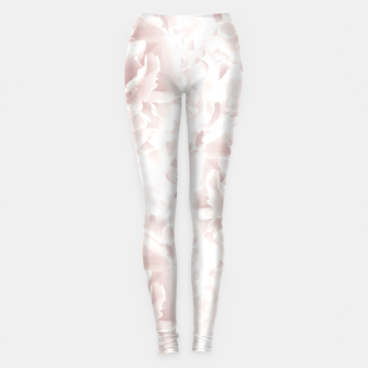 Miniatur Blush Rose Peonies Dream #1 #floral #decor #art Leggings, Live Heroes