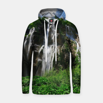 veliki slap waterfall 2 plitvice lakes national park croatia std Hoodie thumbnail image