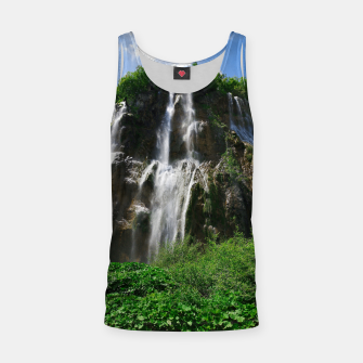 veliki slap waterfall 2 plitvice lakes national park croatia std Tank Top thumbnail image