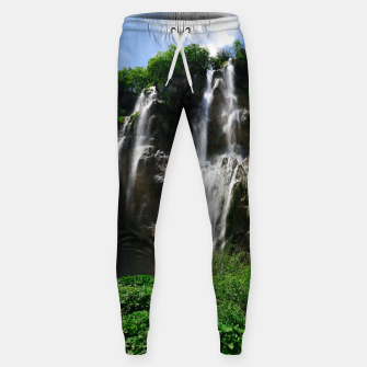 veliki slap waterfall 2 plitvice lakes national park croatia std Sweatpants thumbnail image