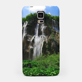 veliki slap waterfall 2 plitvice lakes national park croatia std Samsung Case thumbnail image