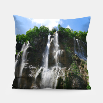 veliki slap waterfall 2 plitvice lakes national park croatia std Pillow thumbnail image