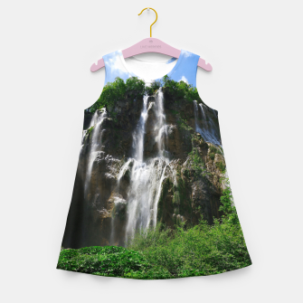 veliki slap waterfall 2 plitvice lakes national park croatia std Girl's summer dress thumbnail image