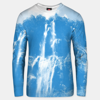 veliki slap waterfall 2 plitvice lakes national park croatia wb Unisex sweater thumbnail image