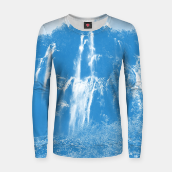 veliki slap waterfall 2 plitvice lakes national park croatia wb Women sweater thumbnail image