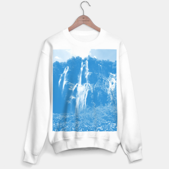 veliki slap waterfall 2 plitvice lakes national park croatia wb Sweater regular thumbnail image