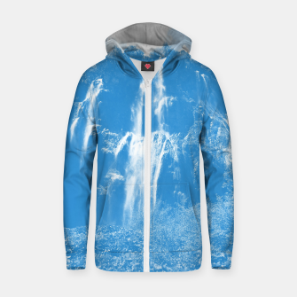 veliki slap waterfall 2 plitvice lakes national park croatia wb Zip up hoodie thumbnail image