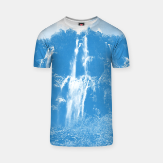 veliki slap waterfall 2 plitvice lakes national park croatia wb T-shirt thumbnail image
