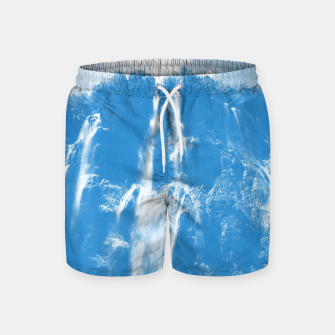 veliki slap waterfall 2 plitvice lakes national park croatia wb Swim Shorts thumbnail image