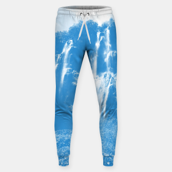 veliki slap waterfall 2 plitvice lakes national park croatia wb Sweatpants thumbnail image