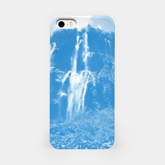 veliki slap waterfall 2 plitvice lakes national park croatia wb iPhone Case thumbnail image