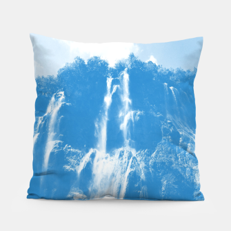 veliki slap waterfall 2 plitvice lakes national park croatia wb Pillow thumbnail image